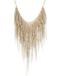 Brunello Cucinelli - Natural Ladies Black Short Bead Necklace - Lyst