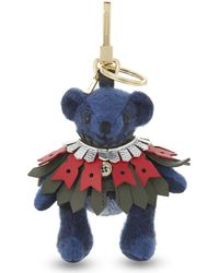 Burberry - Blue Thomas Brouging Cape Bag Charm - Lyst