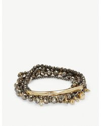 Kendra Scott - Metallic Supak Gold Beaded Bracelet Set - Lyst