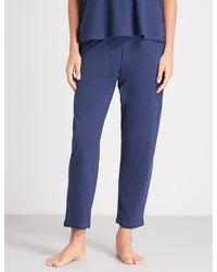 Skin - Blue Octava Cotton Pyjama Bottoms - Lyst