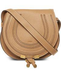 Chloé - Natural Marcie Small Saddle Bag - Lyst
