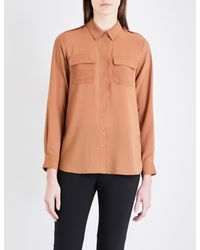 French Connection - Multicolor Pippa Plains Georgette Shirt - Lyst