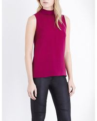 French Connection | Multicolor Polly Plains Roll Neck Top | Lyst