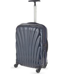 Samsonite Blue Cosmolite Four-wheel Cabin Suitcase 55cm