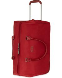 Lipault | Red Lady Plume Two-wheeled Weekend Bag 53cm | Lyst