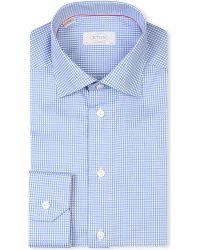 Eton of Sweden   Contemporary Fit Blue Shirt for Men   Lyst