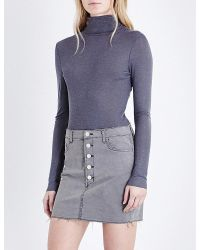 French Connection | Gray Marian Knitted Turtleneck Jumper | Lyst