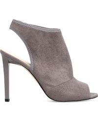 Nine West | Gray Levona2 Suedette Shoe Boots | Lyst