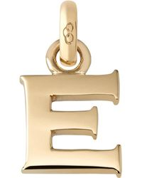 Links of London - Metallic E 18ct Yellow Gold Charm - Lyst
