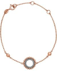 Links of London - Metallic Effervescence 18ct Rose Gold And Diamond Bracelet - Lyst
