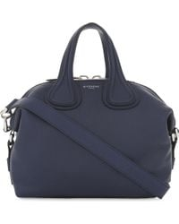 Givenchy - Blue Ladies Small Nightingale Leather Shoulder Bag - Lyst