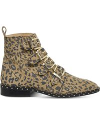 Office - Multicolor Amsterdam- Multi Buckle Studded Boot - Lyst