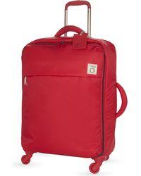 Lipault - Black Inès De La Fressange Four-wheel Suitcase 65cm - Lyst