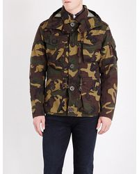 Polo Ralph Lauren | Multicolor Camouflage-print Hooded Shell Utility Jacket for Men | Lyst