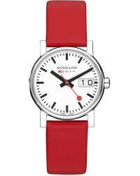 Mondaine | Metallic A6693030511sbc Unisex Evo Big-date Watch | Lyst