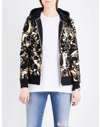 Aape | Metallic Camo-print Jersey Hoody | Lyst