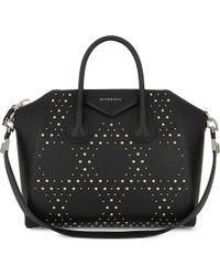 Givenchy - Black Antigona Medium Leather Tote - Lyst