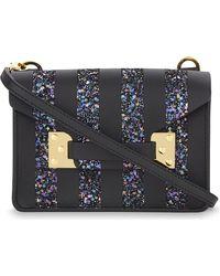 Sophie Hulme | Blue Nano Milner Envelope Cross-body Bag | Lyst
