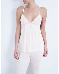 Eberjey - Pink Desirée Jersey Camisole - Lyst