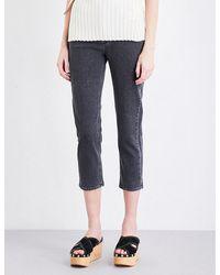 Closed | Blue Heartbreaker Skinny High-rise Jeans | Lyst
