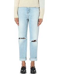 Closed | Blue Lil 85 Boyfriend-fit High-rise Jeans | Lyst