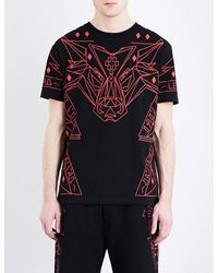 """Marcelo Burlon   Black """"lamborghini"""" T-shirt for Men   Lyst"""