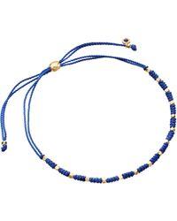 Astley Clarke - Blue Wisdom Biography Skinny Bracelet - Lyst