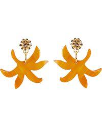 Marni - Multicolor Horn Earrings - Lyst