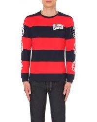 Billionaire Boys Club - Ice Cream | Blue Heavy Stripe Cotton-jersey T-shirt for Men | Lyst