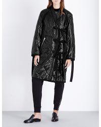 3.1 Phillip Lim   Black Utility Kimono Quilted Coat   Lyst