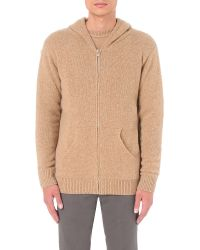 The Elder Statesman - Natural Zip-up Cashmere Hoody for Men - Lyst