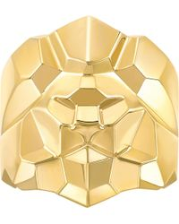 Chanel - Arty Lion 18k Yellow Gold Ring - Lyst