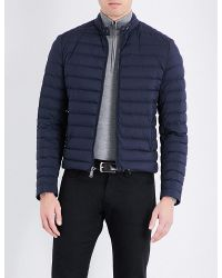 Ralph Lauren Purple Label | Blue Down-filled Quilted Shell Jacket for Men | Lyst