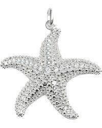 Thomas Sabo | Metallic Glam & Soul Sterling Silver And Diamond Starfish Pendant | Lyst