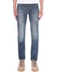 Paul Smith - Blue Regular-fit Tapered Jeans for Men - Lyst