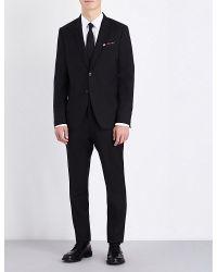 Paul Smith | Black Kensington-fit Wool And Mohair-blend Suit for Men | Lyst