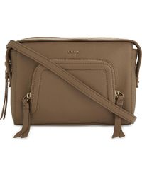 DKNY   Natural Chelsea Vintage Grained Leather Cross-body Bag   Lyst