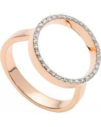 Monica Vinader   Metallic Naida Circle Open Ring   Lyst