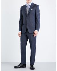 Richard James | Blue Mill Single-breasted Wool Suit for Men | Lyst