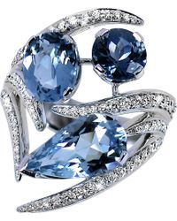 Shaun Leane | Blue Aurora 18ct White-gold | Lyst