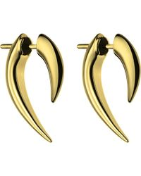 Shaun Leane | Metallic Sterling Silver And Gold Vermeil Talon Earrings | Lyst