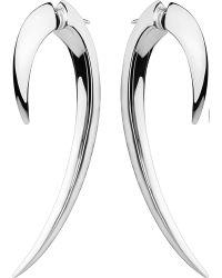 Shaun Leane | Metallic Sterling Silver Hook Earrings Size 1 | Lyst