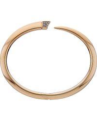 Shaun Leane | Metallic Signature Rose-gold Vermeil Tusk Bracelet | Lyst