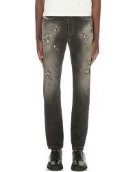 DIESEL | Blue Spender 0855 Jogg Jeans for Men | Lyst