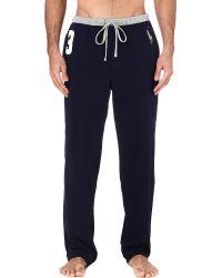 Polo Ralph Lauren | Blue Number 3 Pyjama Bottoms for Men | Lyst