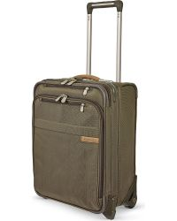 Briggs & Riley | Green Commuter Expandable Upright Two-wheeled Suitcase for Men | Lyst