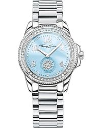 Thomas Sabo - Blue Glam & Soul Divine Stainless Steel Watch - Lyst