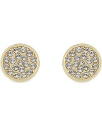 Kate Spade | Metallic Dainty Sparklers Pavé Disc Earrings | Lyst