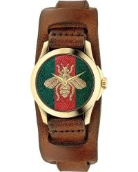 Gucci | Metallic Ya126547 G Timeless Gold-plated Stainless Steel Watch | Lyst
