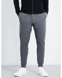 Polo Ralph Lauren - Gray Double-knit Jersey Jogging Bottoms for Men - Lyst